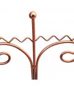 Présentoir porte bijoux pour colliers zigzag