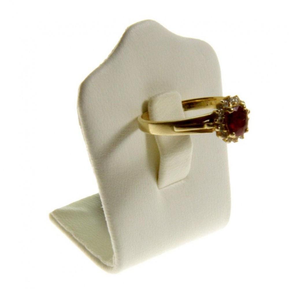 presentoir bague tr fle mini simili cuir pour 1 bague. Black Bedroom Furniture Sets. Home Design Ideas