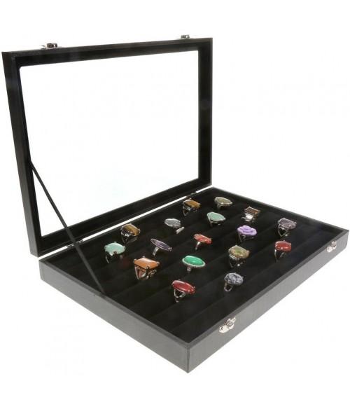 boite a bague mallette bijoux de rangement pour bagues. Black Bedroom Furniture Sets. Home Design Ideas